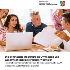 Infos gymnasiale Oberstufe 2020